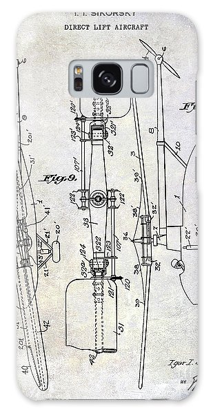 1935 Helicopter Patent  Galaxy Case