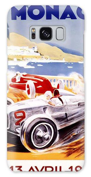 1936 F1 Monaco Grand Prix  Galaxy Case