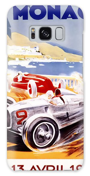 1936 F1 Monaco Grand Prix  Galaxy Case