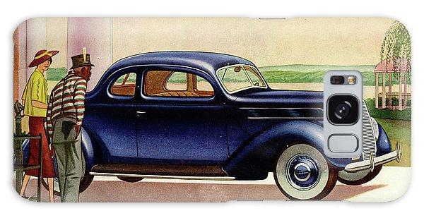 1937 Ford Car Ad Galaxy Case