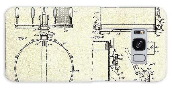 1939 Slingerland Snare Drum Patent Sheets Galaxy Case by Gary Bodnar