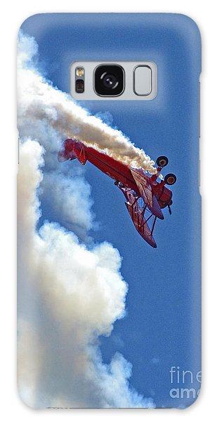 1940 Boeing Stearman Biplane Stunt 2 Galaxy Case