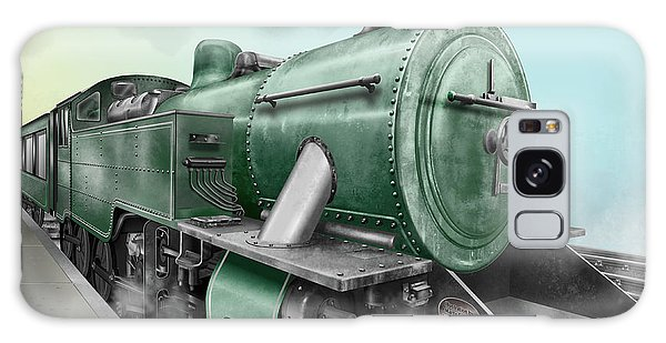 1940's Steam Train Galaxy Case by Marty Garland