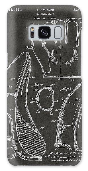 1941 Baseball Glove Patent - Gray Galaxy Case