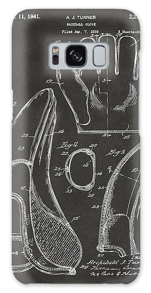 1941 Baseball Glove Patent - Gray Galaxy Case