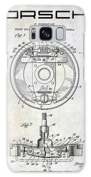 Six Galaxy Case - 1941 Porsche Brake Mechanism Patent by Jon Neidert