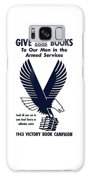 Eagle Galaxy S8 Case - 1943 Victory Book Campaign by War Is Hell Store