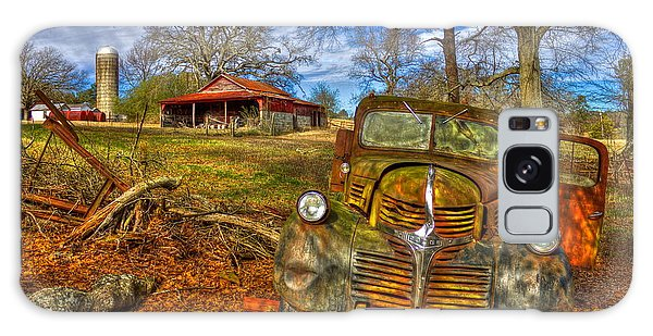 Retired 1947 Dodge Dump Truck Country Scene Art Galaxy Case