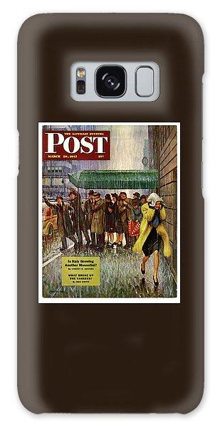 1947 Saturday Evening Post Magazine Cover Galaxy Case