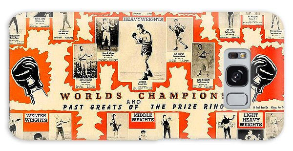 1947 World Champions And Past Greats Of The Prize Ring Galaxy Case