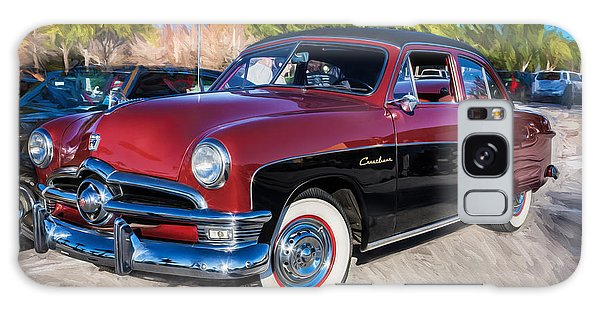 Dual Exhaust Galaxy Case - 1950 Ford 2 Door Crestliner Painted    by Rich Franco