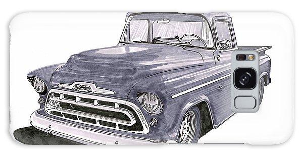 Old Truck Galaxy Case - 1950 S G M C Pick Up Truck by Jack Pumphrey