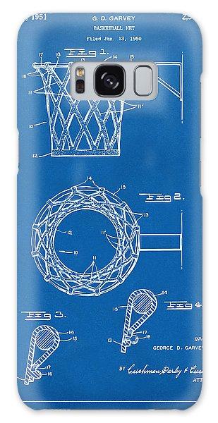 1951 Basketball Net Patent Artwork - Blueprint Galaxy Case