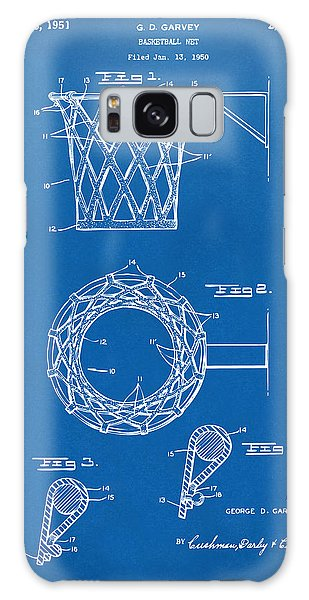 1951 Basketball Net Patent Artwork - Blueprint Galaxy Case