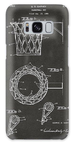 1951 Basketball Net Patent Artwork - Gray Galaxy Case
