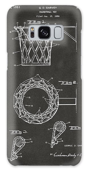 1951 Basketball Net Patent Artwork - Gray Galaxy Case