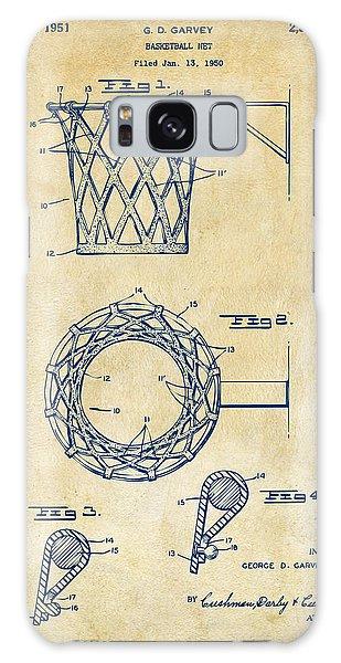 1951 Basketball Net Patent Artwork - Vintage Galaxy Case