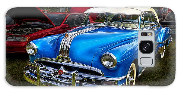 1952 Blue Pontiac Catalina Chiefton Classic Car Galaxy Case by Betty Denise