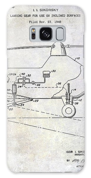 1953 Helicopter Patent Galaxy Case