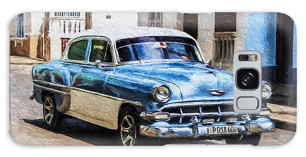 Galaxy Case featuring the photograph 1954 Chevy Cuba by Lou Novick