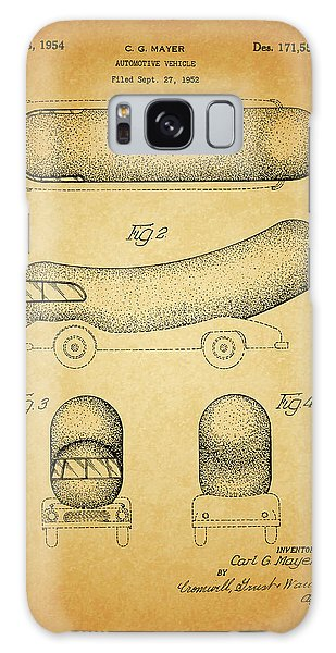 1954 Weiner Mobile Patent Galaxy Case by Dan Sproul