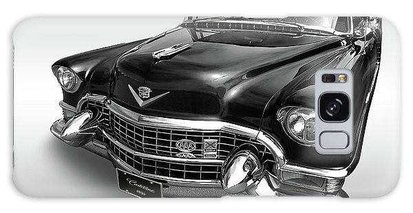 1955 Cadillac Black And White Galaxy Case by Gill Billington