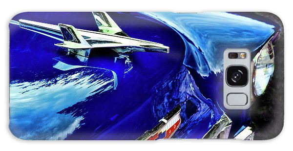 1955 Chevy Bel Air Hard Top - Blue Galaxy Case by Peggy Collins