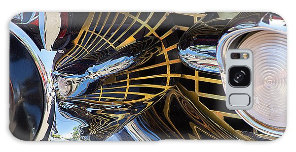 1957 Chevy Bel Air Grill Abstract 1 Galaxy Case