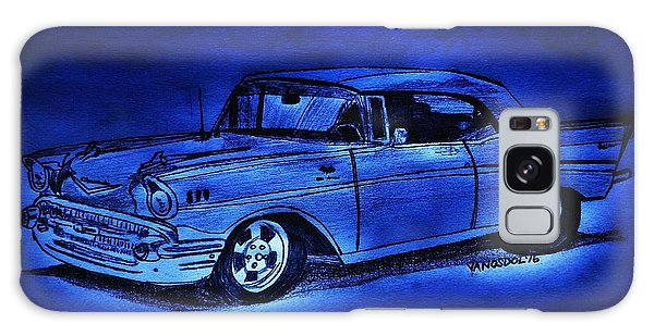 1957 Chevy Bel Air - Moonlight Cruisin  Galaxy Case