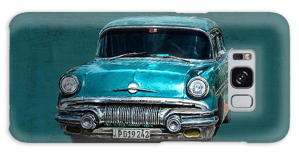 Galaxy Case featuring the photograph 1957 Pontiac Bonneville by Lou Novick