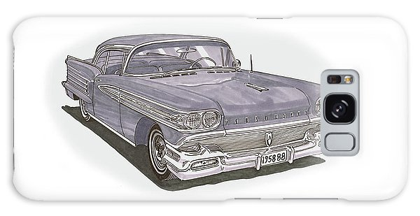 Galaxy Case - 1958 Oldsmobile 88 Hard Top Convertible by Jack Pumphrey