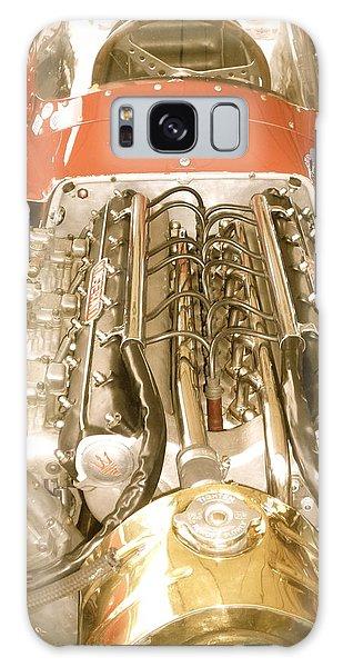 1959 Tecnia Meccanica Maserati 250f Engine Detail Galaxy Case
