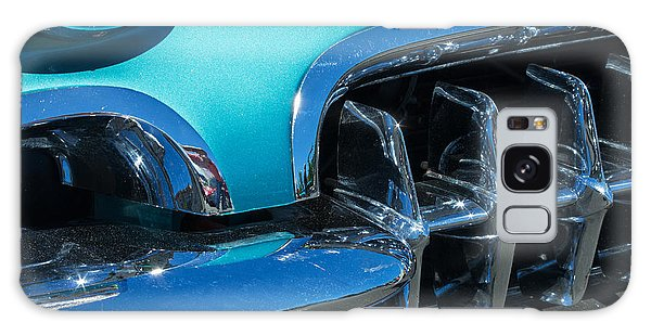 1960 Chevy Corvette Headlight And Grill Abstract Galaxy Case