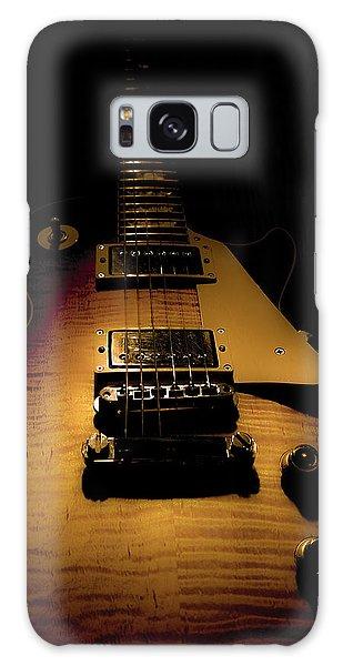 Galaxy Case featuring the digital art 1960 Reissue Guitar Spotlight Series by Guitar Wacky