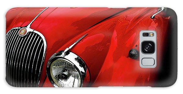 Red Jaguar Galaxy Case