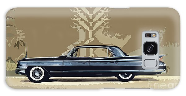 1961 Cadillac Fleetwood Sixty-special Galaxy Case by Bruce Stanfield