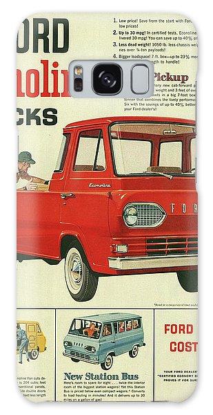 1961 Ford Econoline Vintage Ad Galaxy Case
