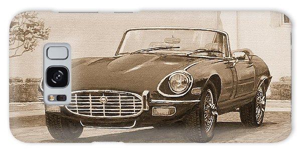 1961 Jaguar Xke Cabriolet In Sepia Galaxy Case