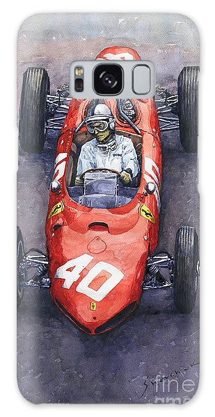 Automotive Art Galaxy Case - 1962 Monaco Gp Willy Mairesse Ferrari 156 Sharknose by Yuriy Shevchuk