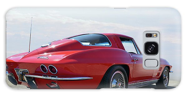 1963 Corvette Coupe Galaxy Case by Bill Dutting