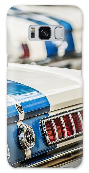 Galaxy Case featuring the photograph 1965 Ford Shelby Mustang Gt 350 Taillight -1037c by Jill Reger