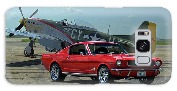 1965 Mustang Fastback And P51 Mustang Galaxy Case