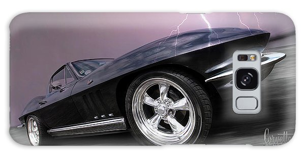 1966 Corvette Stingray With Lightning Galaxy Case