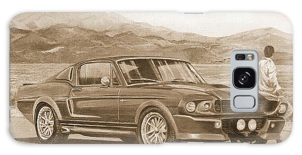 1967 Ford Mustang Fastback In Sepia Galaxy Case