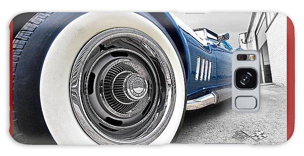 1968 Corvette White Wall Tires Galaxy Case by Gill Billington