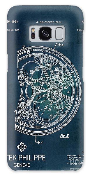 Time Frame Galaxy Case - 1968 Patek Philippe Patent 1 by Nishanth Gopinathan