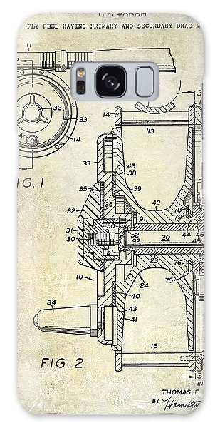 1969 Fly Reel Patent Galaxy Case