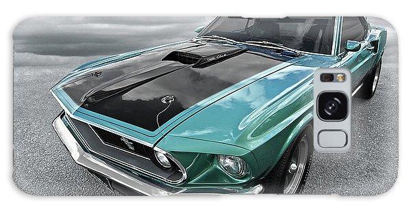 1969 Green 428 Mach 1 Cobra Jet Ford Mustang Galaxy Case