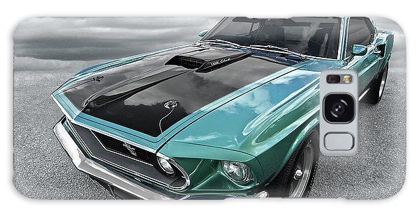 1969 Green 428 Mach 1 Cobra Jet Ford Mustang Galaxy Case