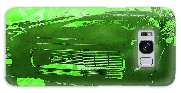 1969 Pontiac Gto Convertible Pop Green Galaxy Case